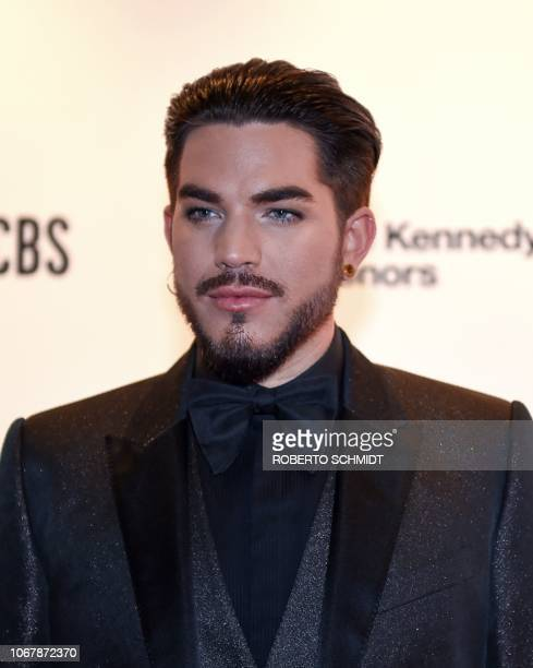 Singersongwriter Adam Lambert arrives at the 41st Annual Kennedy Center Honors in Washington DC on December 2 2018 The 2018 honorees are singer and...