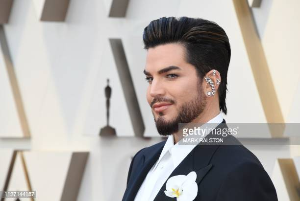 US singersongwriter Adam Lambert arrives for the 91st Annual Academy Awards at the Dolby Theatre in Hollywood California on February 24 2019