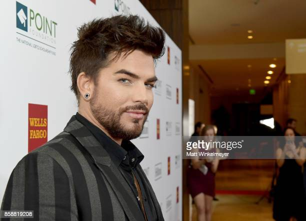 Singer/songwriter Adam Lambert at Point Honors Los Angeles 2017 benefiting Point Foundation at The Beverly Hilton Hotel on October 7 2017 in Beverly...