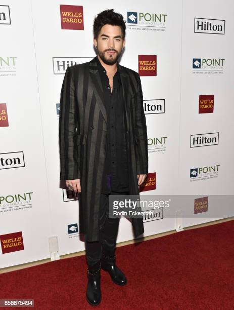 Singersongwriter Adam Lambert attends Point Honors Los Angeles at The Beverly Hilton Hotel on October 7 2017 in Beverly Hills California