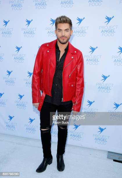 Singer/songwriter Adam Lambert attends Project Angel Food's 2017 Angel Awards on August 19 2017 in Los Angeles California