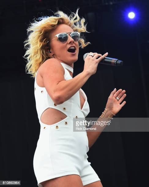 Singer/Songwriter Adley Stump performs during Happy Valley Jam 2017 in Beaver Stadium on the campus of Penn State University July 8 2017 in State...