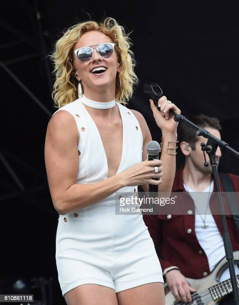 Singer/Songwriter Adley Stump performs during Happy Valley Jam 2017 in Beaver Stadium on the campus of Penn State University. July 8, 2017 in State...