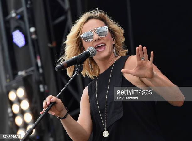 Singer/Songwriter Adley Stump pperforms during Doak After Dark at Florida State University on April 29, 2017 in Tallahassee, Florida.