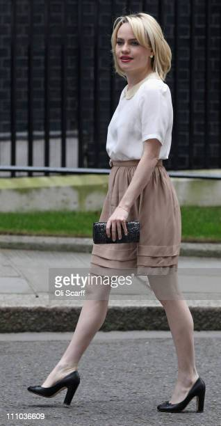Singersongwriter Aimée Ann Duffy arrives in Downing Street on March 29 2011 in London England The artist known as 'Duffy' attended a meeting hosted...