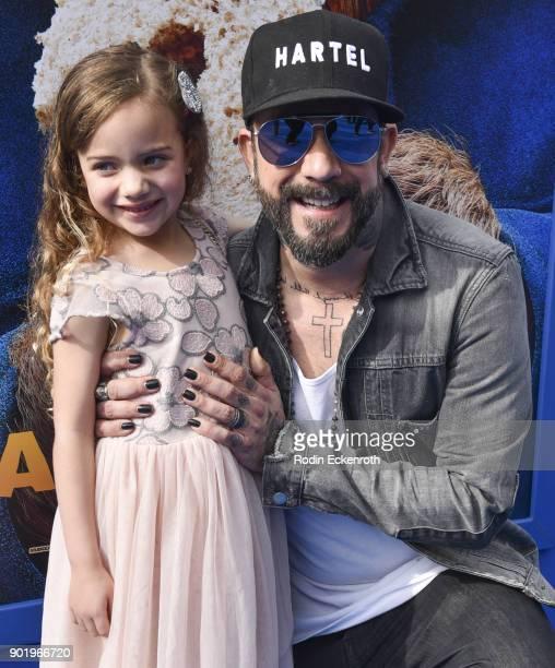 Photo of AJ McLean & his Daughter Ava McLean