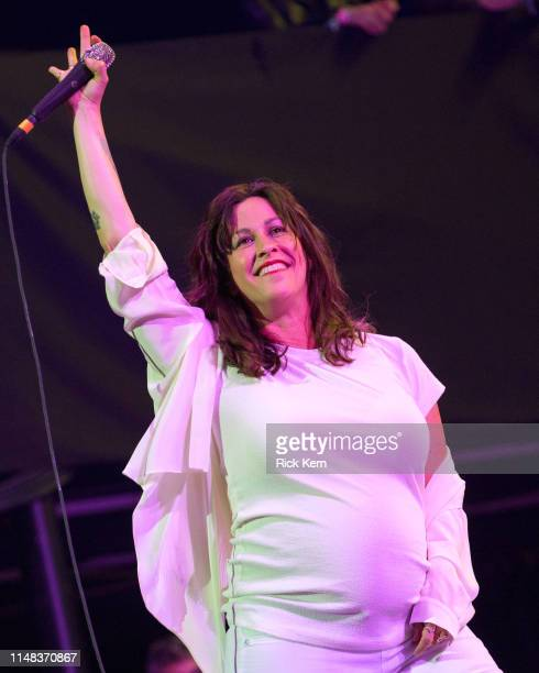 Singersongwriter Alanis Morissette performs onstage during day one of KAABOO Texas at ATT Stadium on May 10 2019 in Arlington Texas