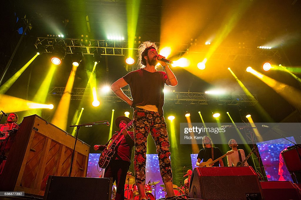 Singer-songwriter Alex Ebert of Edward Sharpe and the Magnetic Zeros performs onstage during day two of Free Press Summer Festival on June 5, 2016 in Houston, Texas.