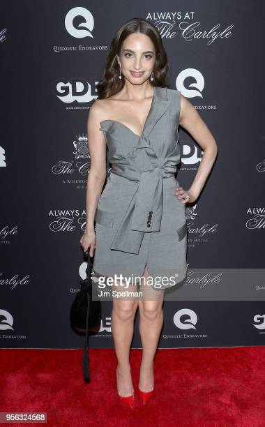 Singer/songwriter Alexa Ray Joel attends the New York premiere of 'Always At The Carlyle' at The Paris Theatre on May 8 2018 in New York City