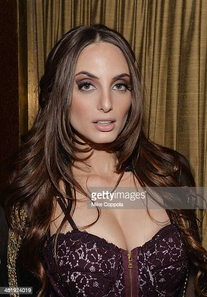 Singer/songwriter Alexa Ray Joel poses for a picture after she performed at Cafe Carlyle rlyle on April 1 2014 in New York City