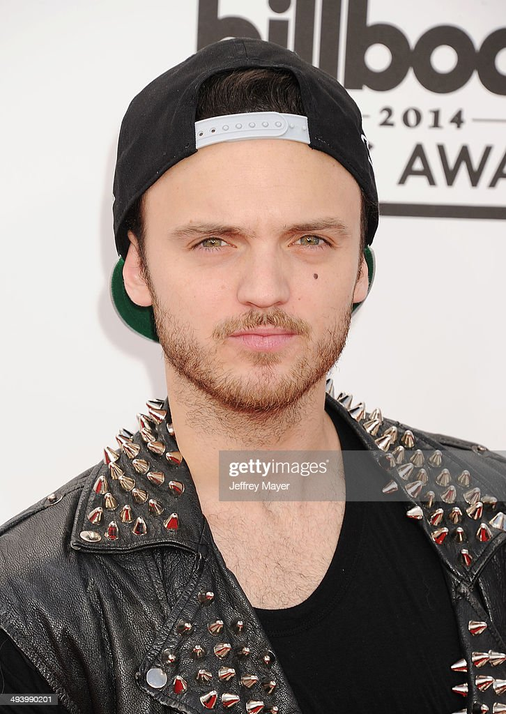 Singer/songwriter Alexander DeLeon of The Cab arrives at the 2014 Billboard Music Awards at the MGM Grand Garden Arena on May 18, 2014 in Las Vegas, Nevada.