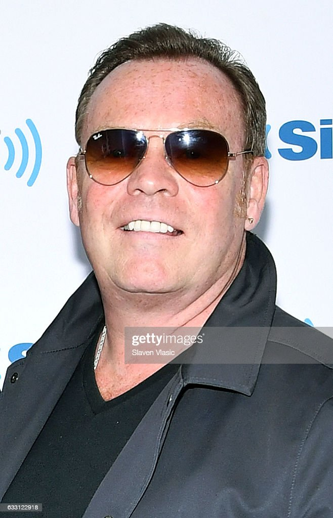 Singer/songwriter Ali Campbell of reggae/pop band 'UB40' visits SiriusXM Studios on January 30, 2017 in New York City.