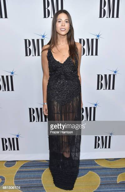 Singersongwriter Ali Tamposi at the Broadcast Music Inc honors Barry Manilow at the 65th Annual BMI Pop Awards on May 9 2017 in Los Angeles California