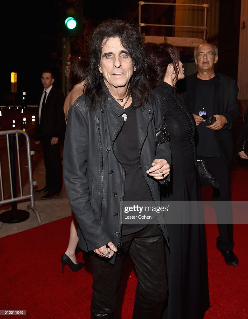 Singer-songwriter Alice Cooper attends Universal Music Group 2016 Grammy After Party presented by American Airlines and Citi at The Theatre at Ace Hotel Downtown LA on February 15, 2016 in Los Angeles, California.