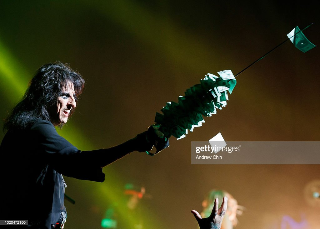 Alice Cooper Performs At Queen Elizabeth Theatre