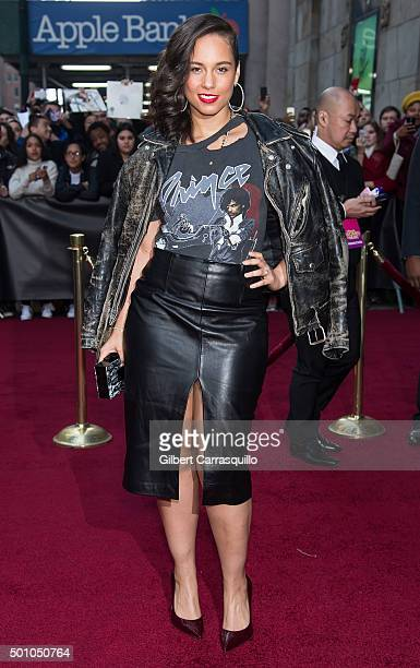 Singer-songwriter Alicia Keys attends Billboard's 10th Annual Women In Music at Cipriani 42nd Street on December 11, 2015 in New York City.
