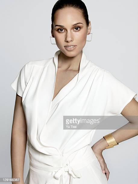 Singer/songwriter Alicia Keys is photographed for Essence Magazine on April 1 2011 in Los Angeles California