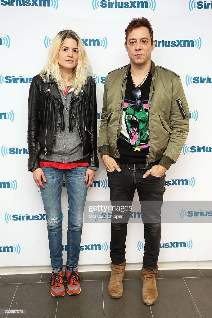 Celebrities Visit SiriusXM - April 12, 2016
