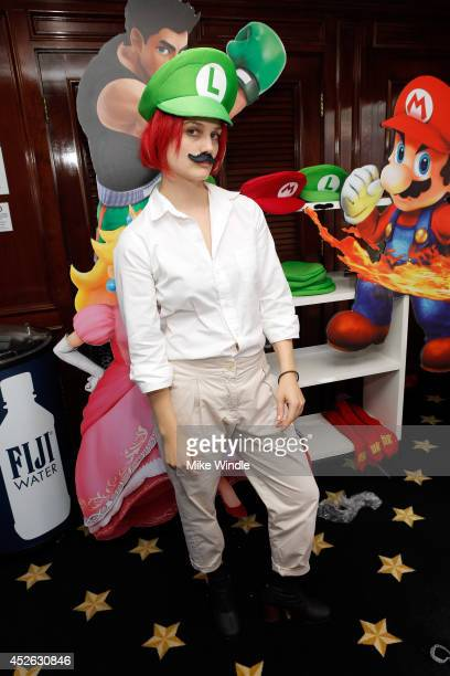 Singer/songwriter Alison Sudol aka A Fine Frenzy attends the Nintendo Lounge on the TV Guide Magazine Yacht during ComicCon International 2014...