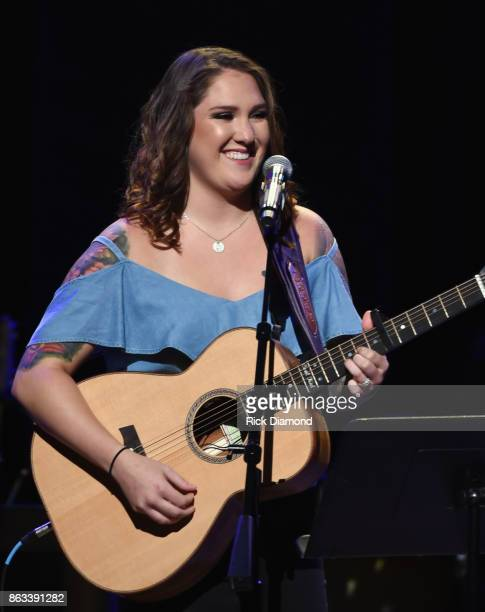 Singer/Songwriter Allie Colleen Brooks Daughter of Garth Brooks makes her Grand Ole Opry debut during Dr Ralph Stanley Forever A Special Tribute...