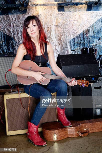 Singer/songwriter Amanda Shires is photographed for Wall Street Journal on July 25 2013 in New York City