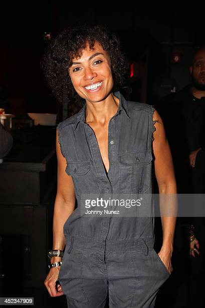 Singersongwriter Amel Larrieux attends Thanksgiving Eve With Walshy Fire Of Major Lazer at Highline Ballroom on November 27 2013 in New York City