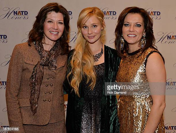 Singer/Songwriter Amy Grant ABC TV's ' Nashville' Singer/Songwriter Clare Bowen With Honoree Singer/Songwriter Martina McBride attend the 3rd annual...
