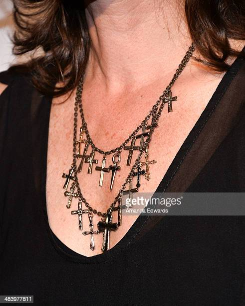 Singer-songwriter Amy Grant arrives at the Kaleidoscope Ball - Designing The Sweet Side Of L.A. Event at The Beverly Hills Hotel on April 10, 2014 in...