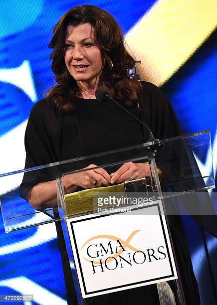 Singer/Songwriter Amy Grant presents during The 2nd Annual GMA Honors at Allen Arena, Lipscomb University on May 5, 2015 in Nashville, Tennessee.