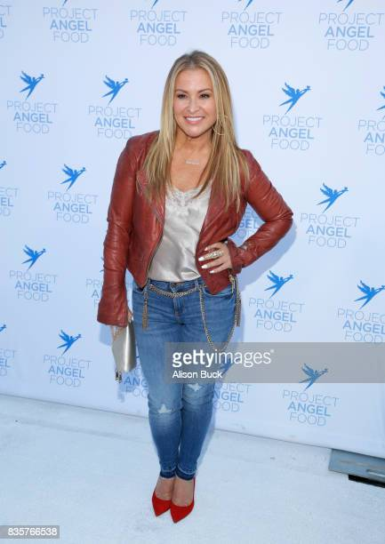 Singer/songwriter Anastacia attends Project Angel Food's 2017 Angel Awards on August 19 2017 in Los Angeles California