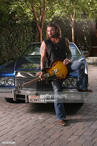 Singersongwriter and Actor Billy Ray Cyrus at his home in Los Angeles California on April 24 2014