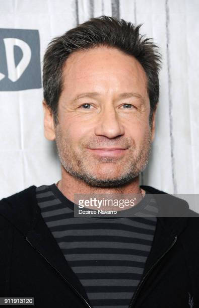 Singersongwriter and actor David Duchovny visits Build Sesries to discuss the album 'Every Third Thought' at Build Studio on January 29 2018 in New...