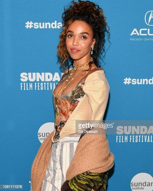 Singersongwriter and actor FKA Twigs attends the Honey Boy Premiere during the 2019 Sundance Film Festival at Eccles Center Theatre on January 25...