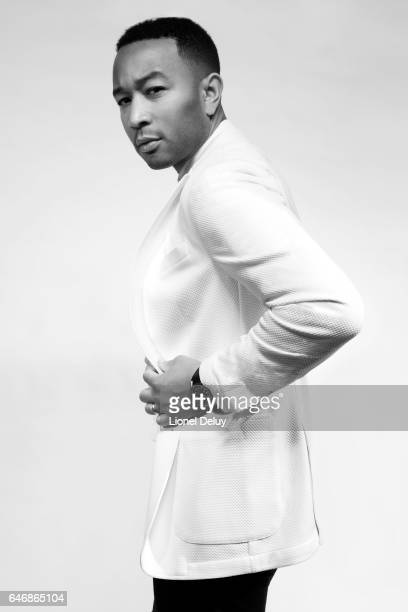 Singersongwriter and actor John Legend is photographed for Fault Magazine on January 12 2017 in Los Angeles California COVER IMAGE
