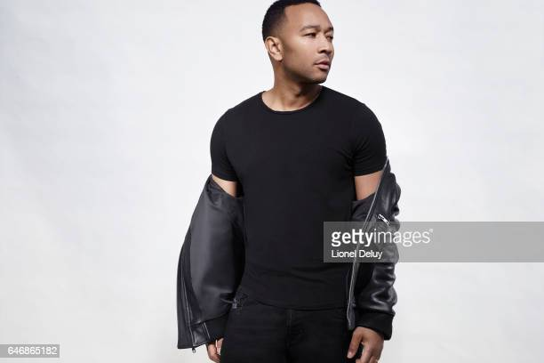 Singersongwriter and actor John Legend is photographed for Fault Magazine on January 12 2017 in Los Angeles California