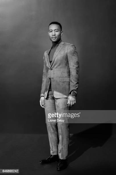 Singersongwriter and actor John Legend is photographed for Fault Magazine on January 12 2017 in Los Angeles California PUBLISHED IMAGE