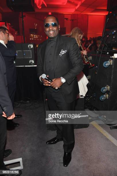 Singersongwriter and actor Johnny Gill attends Joe Carter Classic After Party at Ritz Carlton on June 21 2018 in Toronto Canada