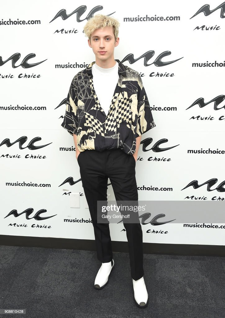 Troye Sivan Visits Music Choice