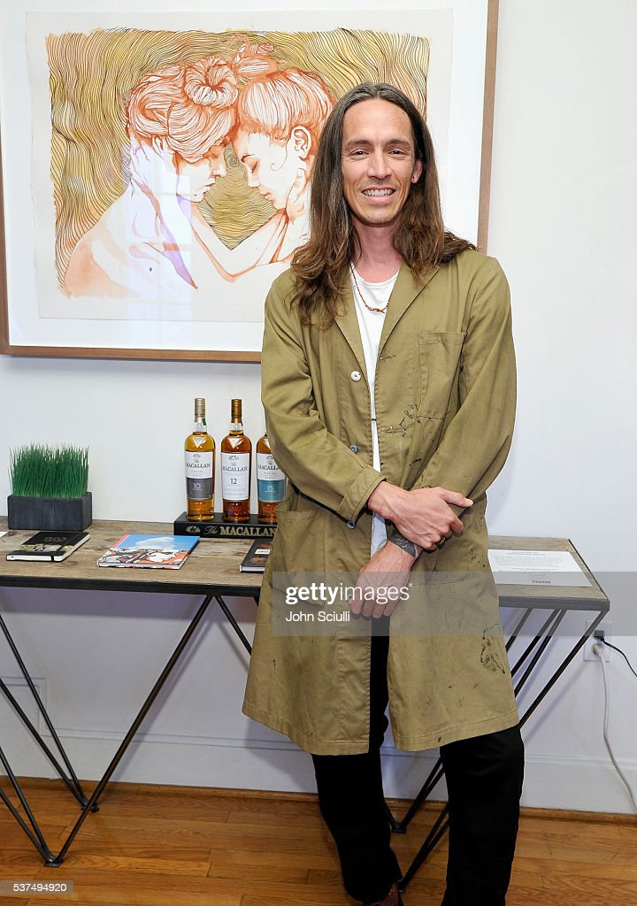 Singer/Songwriter and Artist Brandon Boyd attends The Art of Elysium and The Macallan's Men In The Arts: The Work of Brandon Boyd on June 1, 2016 in Los Angeles, California.