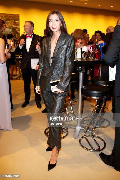 Singersongwriter and blogger Nadia Ali during the 24th Opera Gala at Deutsche Oper Berlin on November 4 2017 in Berlin Germany