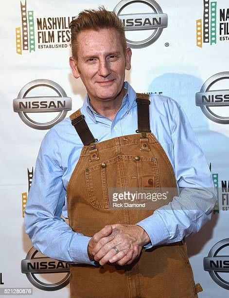 Singersongwriter and Director Rory Feek attends the 2016 Nashville Film Festival premiere of 'Josephine' at Regal Green Hills on April 14 2016 in...