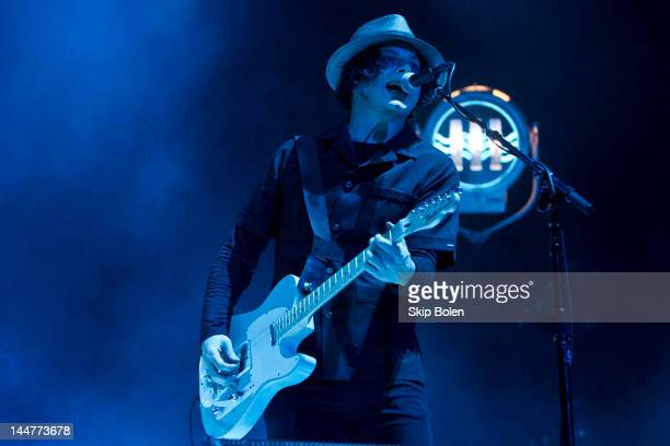 Singersongwriter and guitarist Jack White performs during the 2012 Hangout Music Festival on May 18 2012 in Gulf Shores Alabama