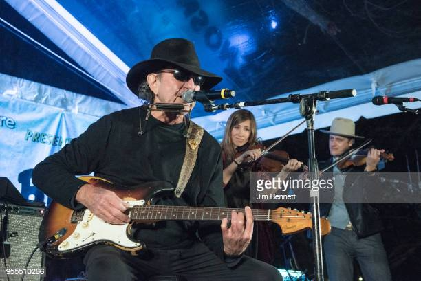 Singersongwriter and guitarist Tony Joe White performs live on stage at Ray Benson's 67th birthday party concert benefiting Health Alliance for...
