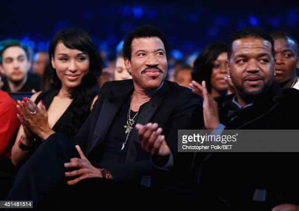 Singer/songwriter and Lifetime Achievement Honoree Lionel Richie attends the BET AWARDS '14 at Nokia Theatre LA LIVE on June 29 2014 in Los Angeles...