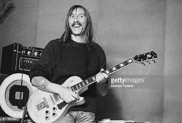 Singersongwriter and musician Dave Brock of English space rock group Hawkwind 10th May1974