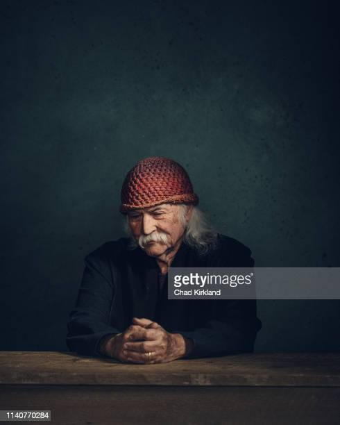 Singersongwriter and musician David Crosby is photographed for Deadline on January 25 2019 in Park City United States