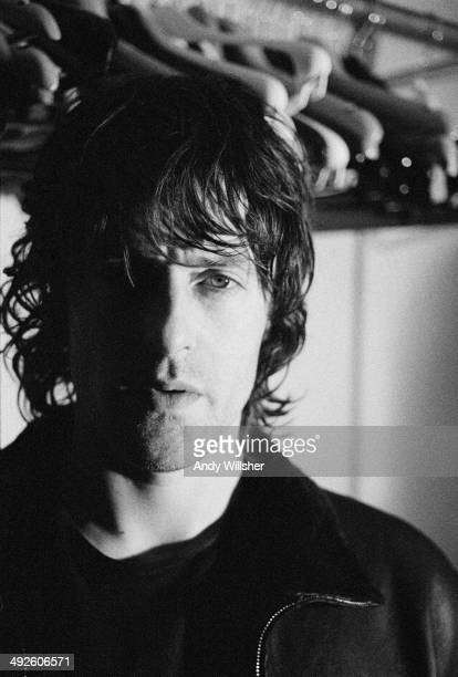 Singersongwriter and musician Jason Pierce of English space rock band Spiritualized circa 1998