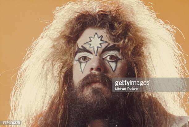 Singersongwriter and musician Roy Wood of English pop glam group Wizzard London 6th December 1974