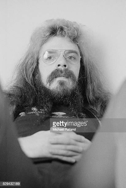 Singersongwriter and musician Roy Wood of English pop group Wizzard June 1974