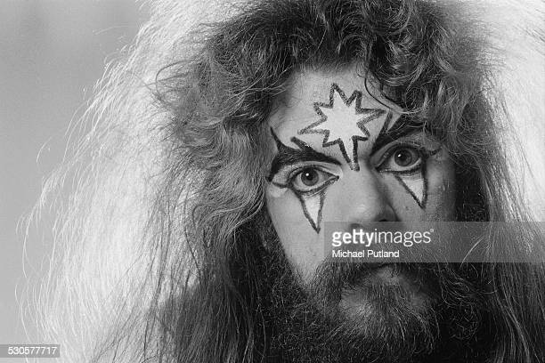 Singersongwriter and musician Roy Wood of English pop group Wizzard London 6th December 1974